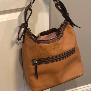 Dooney & Bourke Hobo Pebbled Leather Shoulder Bag
